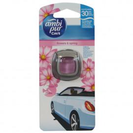 Ambipur Car clip 2 ml. Flores de primavera.