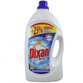 Dixan detergent Gel 4,650 l. 75 dose 25% free.