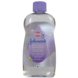 Johnson's aceite corporal 500 ml. Lavanda.