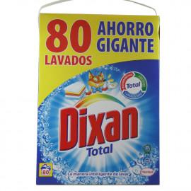 Dixan powder detergent 80 dose case 4,40 kg.