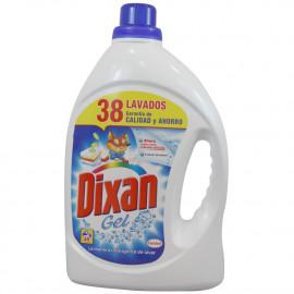 Dixan Gel detergent 2,640 l. 38 dose 25% free.
