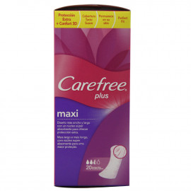 Carefree compress slip protection 20 u. Maxi.