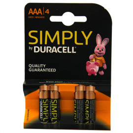 Duracell Symply AAA LR06 4 u