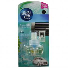 Ambipur Car refill 7 ml. Fresh escapes.