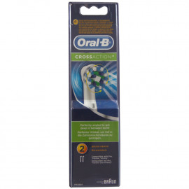 Oral B recambio cepillo de dientes eléctrico 2 u. Crossaction.