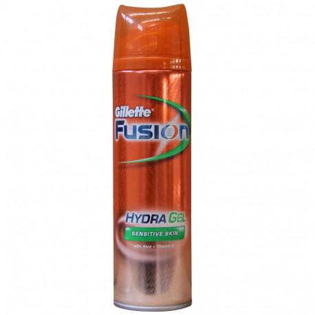Gillette Fusion Hydra Gel 200 ml. Sensitive Skin.