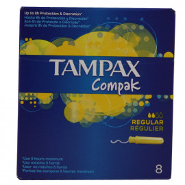 Tampax compak regular 8 u.