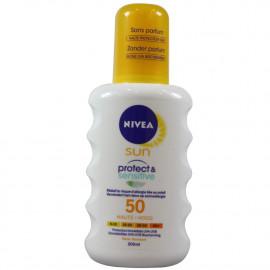 Nivea protección solar 200 ml. Protect & Sensitive 50.