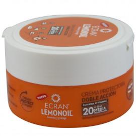 Ecran crema solar 200 ml. Zanahoria protección 20.