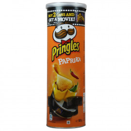 Pringles Potato crisps 165 gr. Hot Paprika.