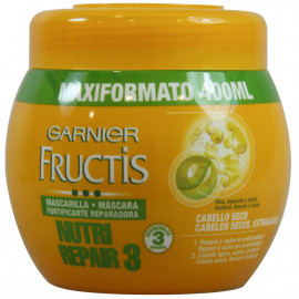 Garnier Fructis face mask 400 ml. Nutri Repair.