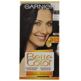 L'Oréal Garnier hair color 2.10 Belle Color Blue Black.