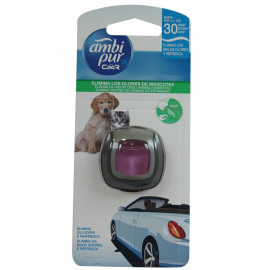 Ambipur Car clip 2 ml. Remove pet odors.
