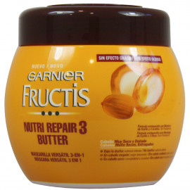 Garnier Fructis mascarilla 400 ml. Nutri Repair 3 Butter.