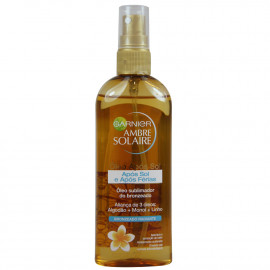 Garnier solar oil 150 ml. Radiant bronzing.