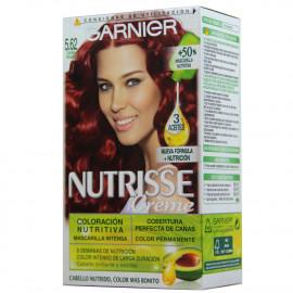 Garnier Nutrisse tinte 5.62 Coloración nutritiva. Caoba Rojizo.