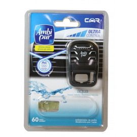 Ambipur Car difusor 7 ml. + recambio Aqua.