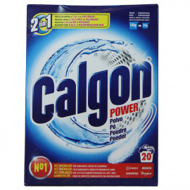 Calgon powder 500 gr. 20 Dose.