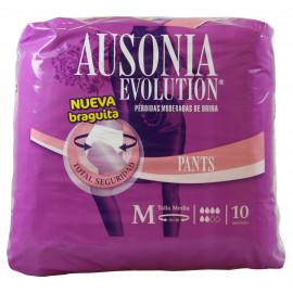 Ausonia Evolution pérdidas de orina 10 u . Talla Mediana.
