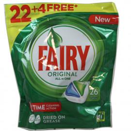 Fairy Original 22+4 u. Original cápsulas.
