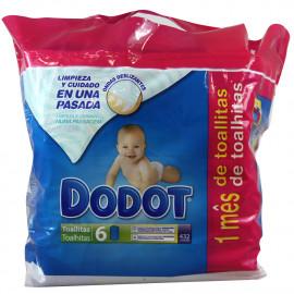 Dodot toallitas 432 u. Limpieza y cuidado.