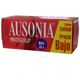 Ausonia protege slip 30 u. Maxi.