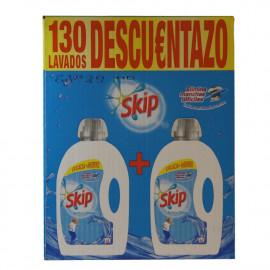 Skip detergente líquido duplo 130 dosis 2 X 3,90 l.