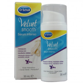 Dr. Scholl velvet sérum intenso para pies 30 ml.