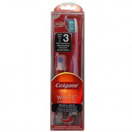 Colgate cepillo de dientes + lápiz blanqueador. Max White. Medio.