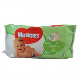 Huggies toallitas 56 u. Natural. (caja 6u.)
