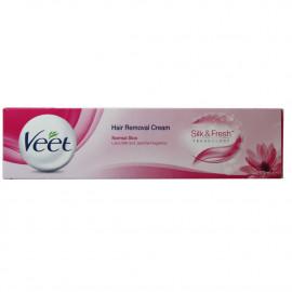 Veet crema depilatoria 200 ml. Pieles normales Leche de Lotus.