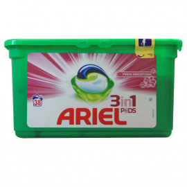 Ariel Tabs 3 in 1 38 u. Fresh Sensation.