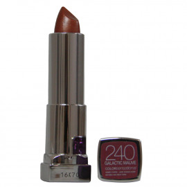 Maybelline color sensation lipstick. 240 Galactic mauve.