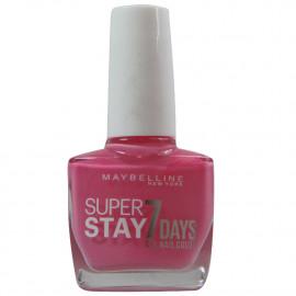 Maybelline nail polish 10ml. 125 Enduring pink.