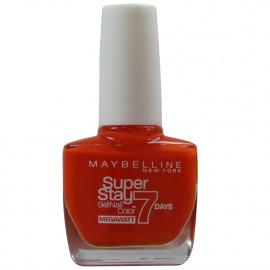 Maybelline esmalte de uñas 10 ml. 470 Orange punch.