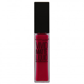 Maybelline pintalabios. 15 Electric pink.