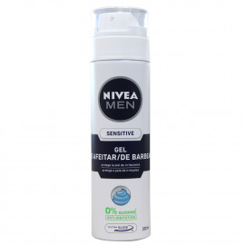 Nivea gel de afeitar 200 ml. Sensitive.
