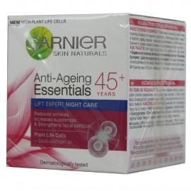 Garnier Skin Naturals crema anti-arrugas 50 ml. + 45 years night care.