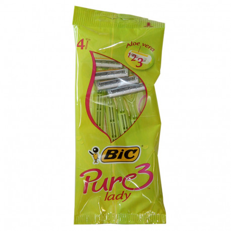 Bic Pure Lady blades 4 u.