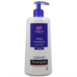 Neutrogena body milk 250 ml. Dry skin.