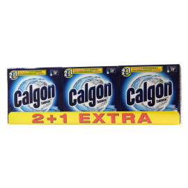 Calgon 12 tablets 2 in 1, 3X180 gr.