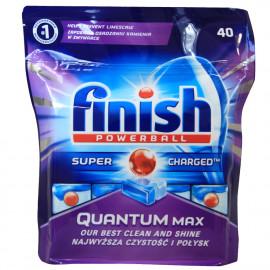 Finish lavavajillas powerball super power 40 u. Quantum.