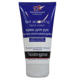 Neutrogena hand cream 75 ml. Fast absorption.
