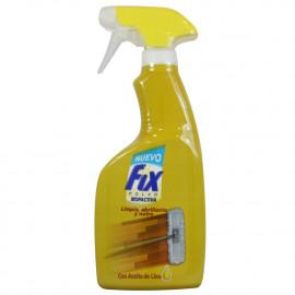 Fix Mopactiva spray 500 ml. Limpia, abrillanta y nutre.