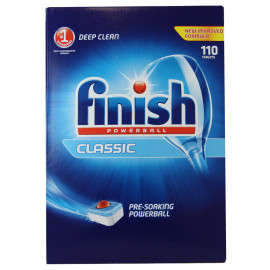 Finish lavavajillas powerball classic 110 u.