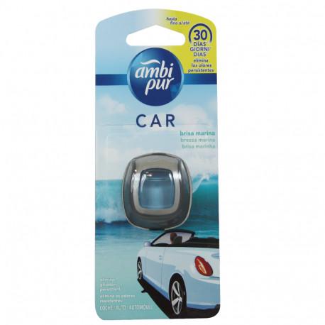 Ambipur ambientador coche clip 2 ml. Brisa marina.