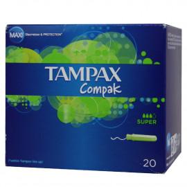 Tampax Compak 20 u. Super.