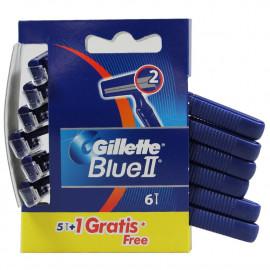 Gillette Blue II Razor 5+1 u.