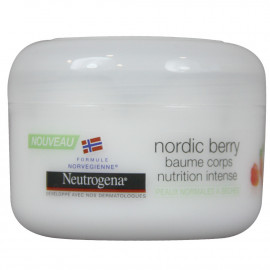 Neutrogena body lotion 200 ml. Deep hydration with nordic berry.