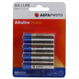 Agfa Photo battery alkaline LR6 AA.